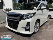 2015 TOYOTA ALPHARD 2.5 SA MODELLISTA GRILLE 2 POWER DOOR 7 SEATER UNREG
