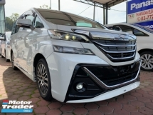 2017 TOYOTA VELLFIRE 2.5 ZG SUNROOF MODDLLISTA AERO TOURE LEATHER PILOT SEATS UNREG