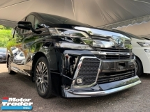 2017 TOYOTA VELLFIRE 2.5 ZG SUNROOF PRE CRASH 3 POWER DOOR PILOT SEATS UNREG