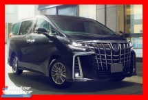 2018 TOYOTA ALPHARD 2.5 SC NEW MODEL WITH PILOT SEAT/POWER BOOT/2 POWER DOORS - UNREG - JAPAN IMPORTED ONLY
