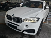 2015 BMW X6 3.0 XDrive 40D SUNROOF HARMAN KARDON HUD PRE COLLISION ALERT UNREG