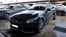 2017 MERCEDES-BENZ C-CLASS C350e (A) PLUG IN HYBRID, REG 2017, ONE CAREFUL OWNER, FULL SERVICE RECORD, LOW MILEAGE DONE 17K KM, UNDER WARRANTY UNTIL AUGUST 2021