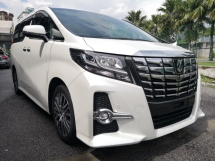 2016 TOYOTA ALPHARD 2.5 SC Pre Crash Local FM DVD & Roof Monitor