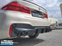 BMW G30 530i M5 Rear Bumper Diffuser Bodykit  Exterior & Body Parts > Car body kits