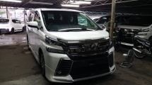 2015 TOYOTA VELLFIRE Unregistered 2015 Toyota Vellfire 2.5 ZG (Full Spec) with Original Japan Modellista Kit & Leather Seats.