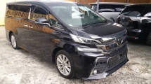 2015 TOYOTA VELLFIRE Unregistered 2015 Toyota Vellfire 2.5 ZA With Pre