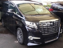 2015 TOYOTA ALPHARD Unregistered 2015 Toyota Alphard 2.5 SC (Full Spec)