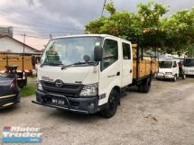 2012 HINO HINO OTHER XZU730R 3 ton Double Cab Kargo