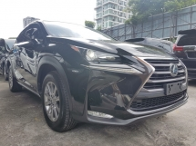 2014 LEXUS NX 200 LUXURY 2.0L (UNREG) 4WD VERSION