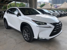 2015 LEXUS NX NX200t Version L 2.0 Turbocharge 235hp Sun Roof Touch Pad Head Up Interface Sport Eco Drive Select Dynamic Radar Cruise Control Blind Spot Monitor Power Boot Intelligent LED Paddle Shift Bluetooth Connectivity Unreg