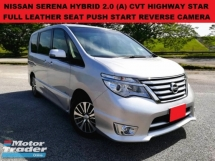 2014 NISSAN SERENA HYBRID HIGHWAY STAR 2.0 (A) FULL SERVICE RECORD LEATHER SEAT PUSH START REVERSE CAMERA
