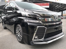 2016 TOYOTA VELLFIRE 2.5ZG FULL SPEC Edition =NAPPA LEATHER=PRE CRASH=SUN ROOF=JBL SURROUND=MODELLISTA JAPAN KIT=