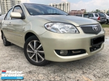 2007 TOYOTA VIOS 1.5G (A) Facelift,One Owner,low Mileage