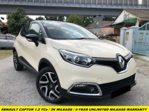 2018 RENAULT CAPTUR FACELIFTED TCe 5 YEAR WARRANTY WITH UNLIMITED MILEAGE 3K MILEAGE FACELIFT PREMIUM SPEC LEATHER SEAT