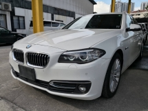 2016 BMW 5 SERIES 520I 2.0 TURBO LUXURY LINE FACELIFT JAPAN SPEC UNREG 2016 16