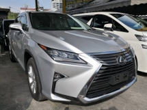 2016 LEXUS RX RX200T 2.0 TURBO PREMIUM LUXURY LINE (TRIPLE HEADLAMP SUNROOF) UNREG 2016