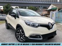 2018 RENAULT CAPTUR 1.2 DEMO CAR 3K MILEAGE 5 YEAR WARRANTY UNILIMITED MILEAGE