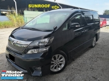 2010 TOYOTA VELLFIRE 2.4(A)2 P/DOOR P/BOOT S/ROOF