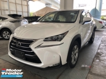 2014 LEXUS NX Unreg Lexus NX200T 2.0 Turbo Camera Keyless Push Start PowerBoot Paddle Shift 6G