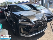 2014 LEXUS NX Unreg Lexus NX200T 2.0 Turbo F Sport Paddle Shift 6Speed Push Start Engine