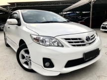 2012 TOYOTA ALTIS 1.8G (A) NEW FACELIFT 7SPEED DUAL VVTI ENGINE