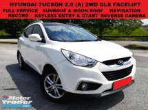 2013 HYUNDAI TUCSON 2.0 2WD NAVI FACELIFT (A) FULL SERVICE RECORD SUNROOF  MOONROOF PUSH START REVERSE CAMERA SUV