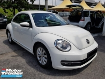 2013 VOLKSWAGEN BEETLE 1.2 (A) 55K KM , Full Service Record