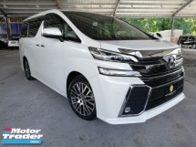 2017 TOYOTA VELLFIRE 2.5ZG Edition ALPINE AUDIO