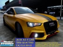 2012 AUDI A5 2.0 TFSI QUATTRO AUTO S LINE