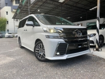 2016 TOYOTA VELLFIRE 2.5 ZG PILOT SEATS ** FREE 2 YEAR WARRANTY / EXCELLENT CONDITION ** OFFER NOW