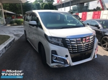 2016 TOYOTA ALPHARD S C PACKAGE 360 VIEW PARKING ,CAMERA LED DAYLIGHT KIT CHINESE NEW YEAR PROMOTION MUST VIEW UNIT