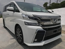 2015 TOYOTA VELLFIRE 2.5 Z-G EDITION PRE-CRASH , SUNROOF AND MOONROOF LIKE NEW CAR CHINESE NEW YEAR PROMOTION