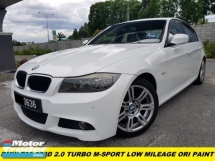 2011 BMW 3 SERIES 2011 BMW E90 320D SPORTS (CBU) 2.0 (A) M-SPORT  LOW MILEAGE TIP TOP CONDITIOAN FREE NICE COUPLE NUMBER