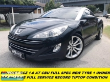 2014 PEUGEOT RCZ (A) 4 NEW TYRE 1 OWNER ORI PAINT TIPTOP CONDITION FULL SERVICE
