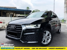 2017 AUDI Q3 1.4 TFSI 1 LADY OWNER 25K MILEAGE FULL SERVICE BY AUDI WARRANTY
