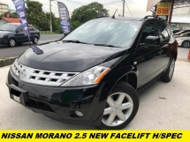 2006 NISSAN MURANO 250XL 1 OWER TIP TOP CONDITION ORIGINAL LOW MILEAGE