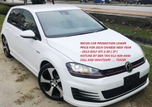 2013 VOLKSWAGEN GOLF 2013 VOLKSWAGEN GOLF 2.0 GTI TSI HATCHBACK JAPAN SPEC CAR SELLING PRICE ONLY ( RM 132,000.00 NEGO )