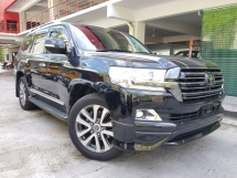 2016 TOYOTA LAND CRUISER ZX 4.6L (UNREG) MEGA HIGH SPEC FEW UNITS READY STOCK
