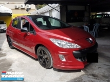 2010 PEUGEOT 308 1.6 A TURBO FULL SPEC
