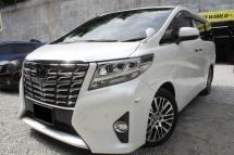 2015 TOYOTA ALPHARD Toyota ALPHARD 2.5 (A) FACELIFT 2 PW/DOOR PW/BOOT