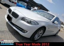 2012 BMW 5 SERIES 520I 2.0 Twin Turbo True Year Made