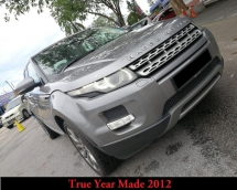 2012 LAND ROVER RANGE ROVER Evoque 4 Doors True Year Made