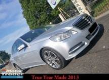 2013 MERCEDES-BENZ E-CLASS E250 AVANTGARDE True Year Made