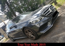2015 MERCEDES-BENZ E-CLASS E300 TURBO DIESEL True Year Made