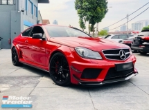 2012 MERCEDES-BENZ C63 AMG BLACK SERIES WITH AERO PACK