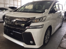 2016 TOYOTA VELLFIRE 2.5 GOLDEN EYE FULLSPEC.UNREGISTER.TRUE YEAR MADE.SUNROOF.7 SEAT.3 POWER DRS N BOOT.ALPHINE DVD HOME THEATER.PRE CRASH AUTO BRAKE SYSTEM N ETC.FREE WARRANTY N MANY GIFTS