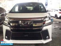 2017 TOYOTA VELLFIRE 2.5 ZA Z UNREGISTER.HIGHSPEC.TRUE YEAR MADE.SUNROOF.7 SEAT.3 POWER DRS N BOOT.ORI ALPHINE HOME THEATER.360 SURROUND CAMERA.BODYKIT.LED DAYLIGHT.FREE WARRANTY N MANY GIFTS