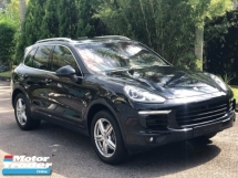 2015 PORSCHE CAYENNE 3.0 DIESEL UNREGISTERED UK SPEC SURROUND CAMERA CARBON TRIM SUNSHADE DARK BLUE