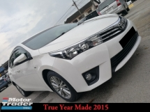 2015 TOYOTA ALTIS 1.8 G True Year Made
