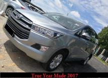 2017 TOYOTA INNOVA 2.0E (AT) True Year Made